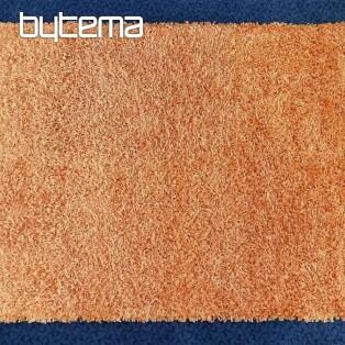Kusový koberec oranžový