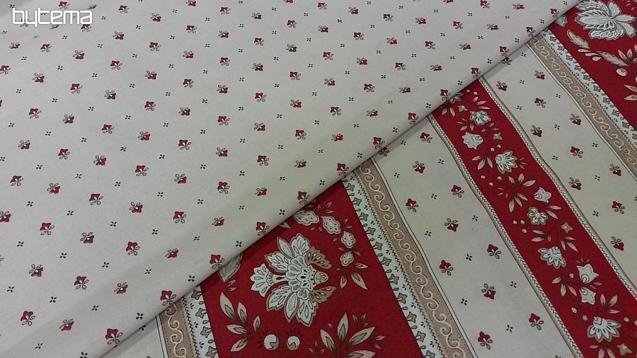Bavlněná látka VOLKS červená - šíře 160 cm 86b9398c2e3