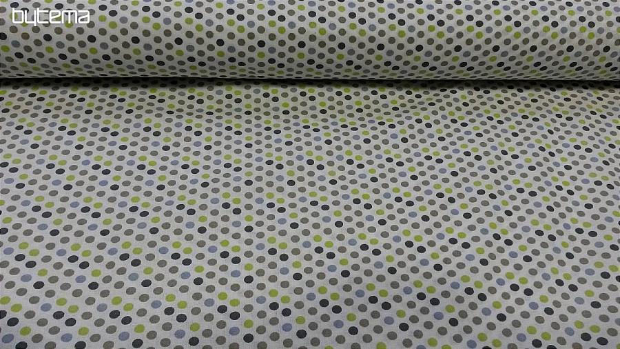 11f9b36a756d Bavlněná látka Barevný puntík II