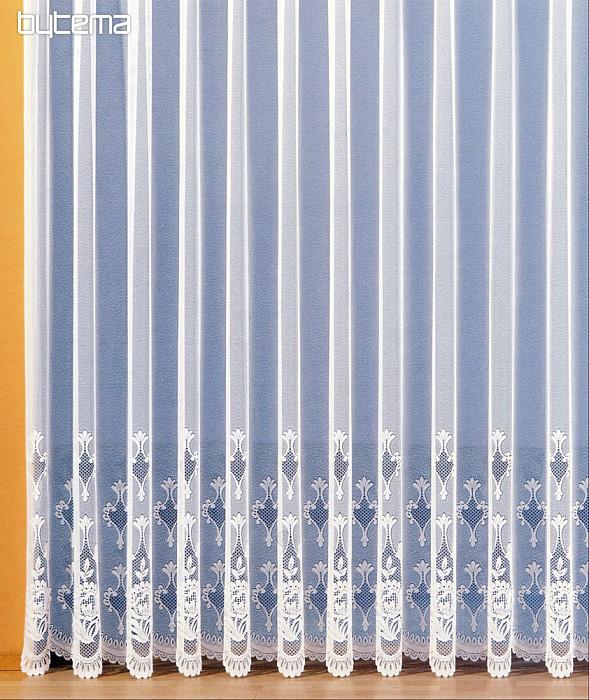 Kusové záclony dlouhé