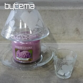 YANKEE CANDLE ETCHED HEARTS