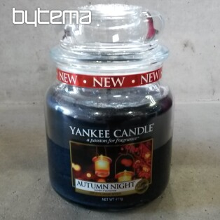 svíčka YANKEE CANDLE vůně AUTUMN NIGHT
