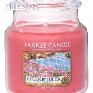 svíčka YANKEE CANDLE vůně GARDEN BY THE SEA