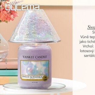 svíčka YANKEE CANDLE vůně SWEET NOTHINGS